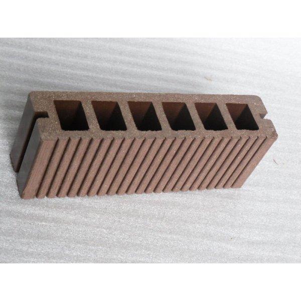Fußboden-sicherer Verpackungsfußboden des hölzernen Plastikdecking