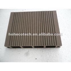 100% reciclado al aire libre del wpc hueco plataforma ( wpc suelo/wpc panel de pared/wpc productos de ocio )