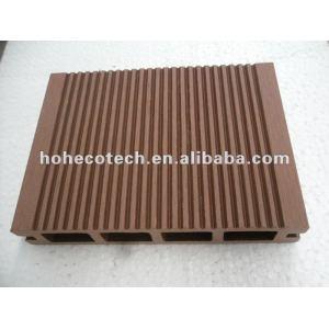 /ce sgs al aire libre wpc decking/eco - ambiente de plástico de madera plataforma