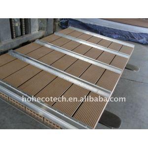 Wpc bois plastique composite jardin d'escrime escrime/wpc balustrade/poteau de clôture en bois