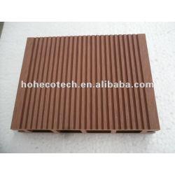 100% reciclado al aire libre del wpc hueco plataforma/cubiertas de madera