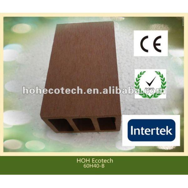Durable caliente venta eco - ambiente wpc poste de la cerca ( a prueba de agua, resistencia a rayos uv, resistencia a la pudrición y el crack )