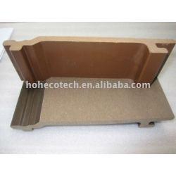 compuesto plástico de madera wpc panel de pared