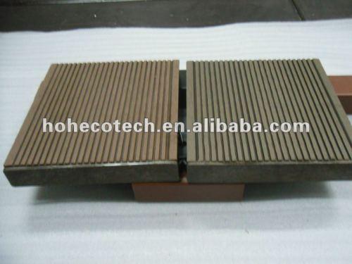 Le composé en plastique en bois installent le composé en bois composé de wpc de /flooring de Decking du bois de construction WPC de monture d'accesorries