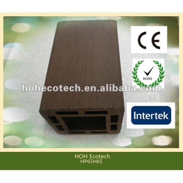 Haltbarer heißer Verkauf umweltfreundlicher wpc Zaunpfosten (Wasserbeweis, UVwiderstand, Widerstand zum zu verrotten und Sprung)