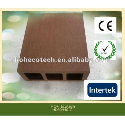 耐久の熱い販売の環境に優しいwpcの塀のポスト(水証拠、紫外線抵抗、抵抗腐敗するおよびひび)