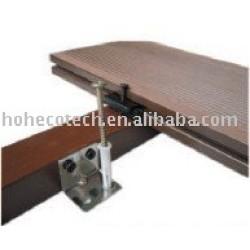 Decking machiné de wpc (ISO9001, ISO14001, ROHS, CE)