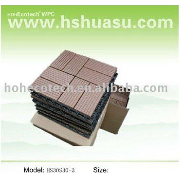 tablero diy compuesto plástico de madera durable del huasu nuevo (prueba del agua, resistencia ULTRAVIOLETA, resistencia a descomponerse y grieta)