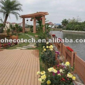 Outside terrace garden wpc deck/flooring planks