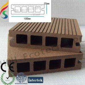 Kunststoff holz composite decking/bodenbelag