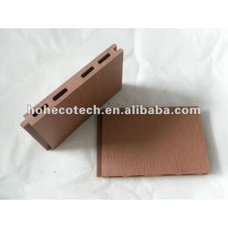 Senza bisogno di accessori 125x15 wpc legno decking composito di plastica/pavimento di piastrelle