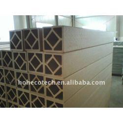 Directamente de fábrica!! Wpc esgrima con facilidad de instalación de diseño más ligero de plástico de madera y materiales compuestos wpc correos