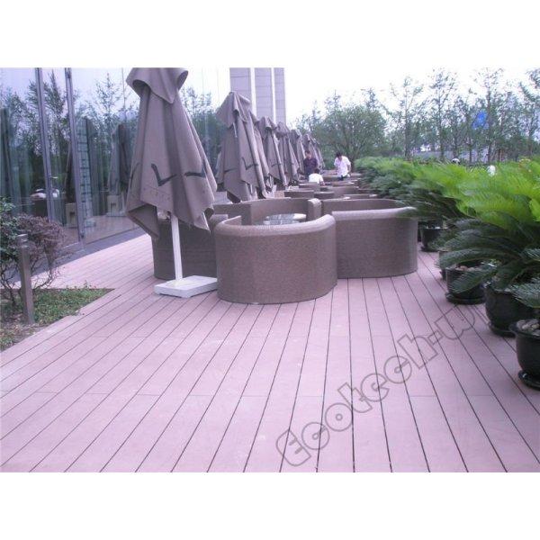 plancher extérieur de decking de wpc