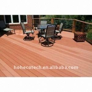 decking de wpc decking/en bois/bois de construction composés en plastique en bois extérieurs de plancher