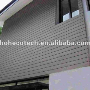 Wood plastic composite wall cladding board/decorative wall panel
