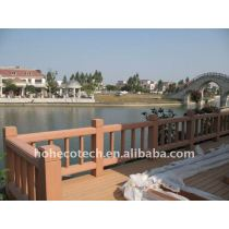 LONG life to use,waterproof bridge railing wpc fencing /fence wpc composite garden fence bridge railing