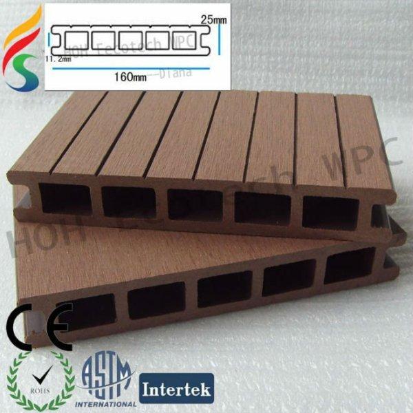 panneaux de plate-forme composés de polymère en bois