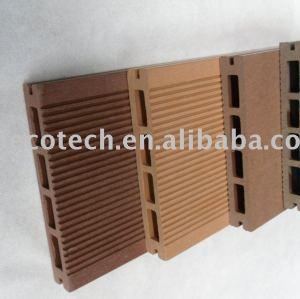 Populaires creux, platelage composite bois plastique/plancher