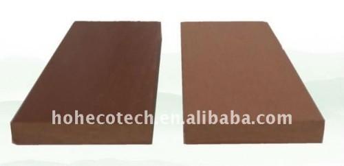 decking composé en plastique en bois de 70*10mm WPC/balustrade en bois wpc de plancher (CE, ROHS, ASTM, OIN 9001, OIN 14001, Intertek)