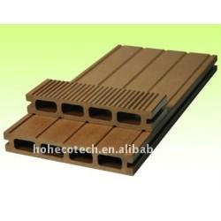 Plástico de madera wpc decking compuesto/suelo 150*25mm ( ce, rohs, astm, iso 9001, iso 14001, intertek ) wpc cubierta de madera