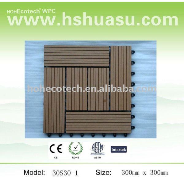 de alta calidad wpc decking azulejos