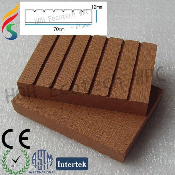 WPC zusammengesetzter Terrasse-Fußboden