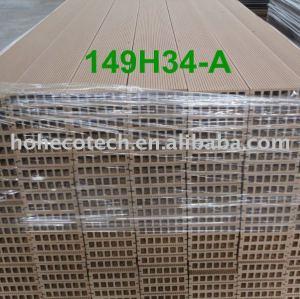 D'usine coutume-longueur extérieure du panneau de plancher de wpc de PLANCHER DIRECTEMENT 149H34
