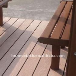 Decking de wpc/panneau de plancher utilisés extérieurs pour le banc de wpc