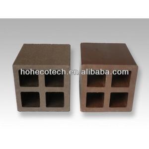 Wpc correos/esgrima post/jardín posterior/poste de madera