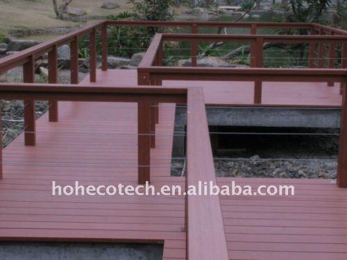 decking/plancher composés en plastique en bois de wpc