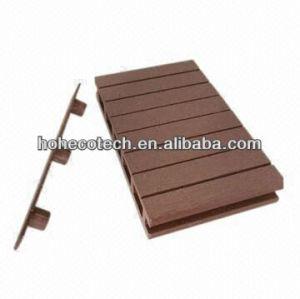 le bois de bonne qualité réutilisé par 100% aiment le decking