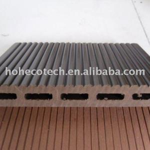 Personnalisé - longueur nouvelle technologie produits wpc platelage extérieur, différents types de revêtements de sol wpc