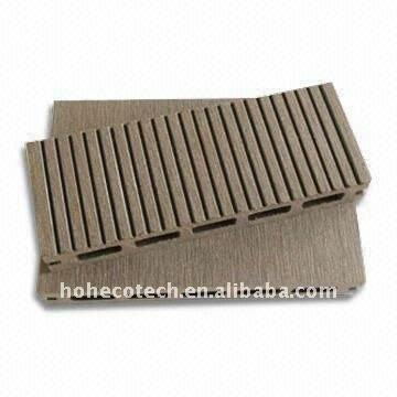 design léger composite wpc creux en bois en bois