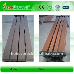 Quality warranty !Natural wood looking and feeling better capability than wood/bamboo composite bench wpc bench