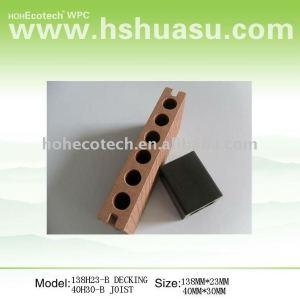 decking extérieur de wpc (ISO9001, ISO14001, ROHS, CE)