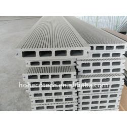 nuovo materiale ecologico wpc legno decking composito di plastica piastrelle in vinile piano di calpestio