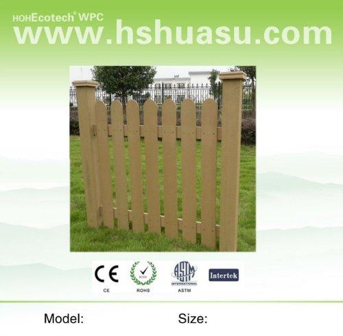 popolare e impermeabile wpc recinzione