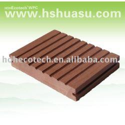 plancher de composé de plancher de decking de wpc