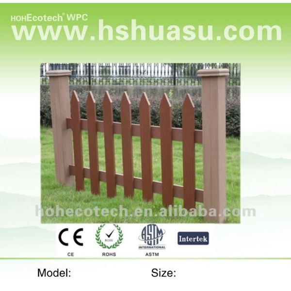 caliente venta de wpc valla del jardín