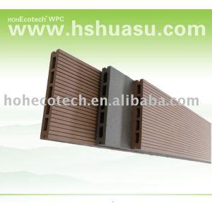 Legno/legname di plastica/decking/pavimentazione bordo decking composito( ce, rohs, astm, iso9001, iso14001, intertek) decking fai da te
