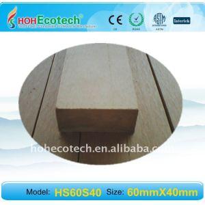 wpc Materialien für Geländer-Plattformgeländer der Bankplattform WPC