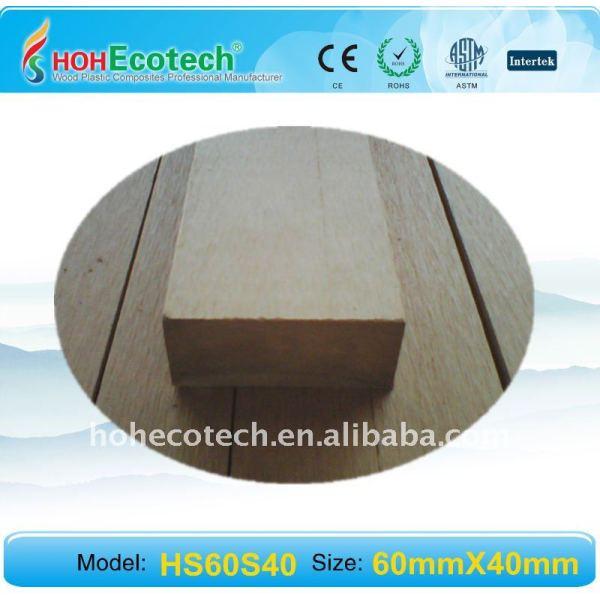 los materiales de wpc banco para cubierta del wpc barandilla barandilla de la cubierta