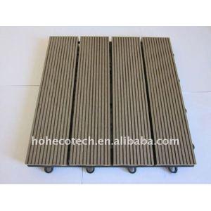 madeira e compósitos de plástico diy telhas decking de wpc material de construção de wpc composto pisos de madeira