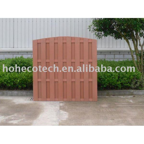 Huasu compuesto plástico de madera ( wpc ) de esgrima