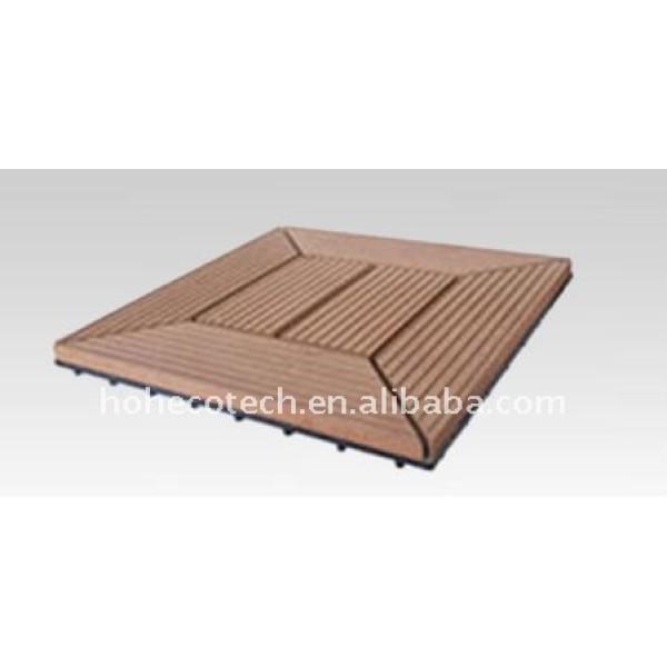 Nuevo eco - ambiente wpc suelo madera/suelodebambú/plataforma pisos de madera