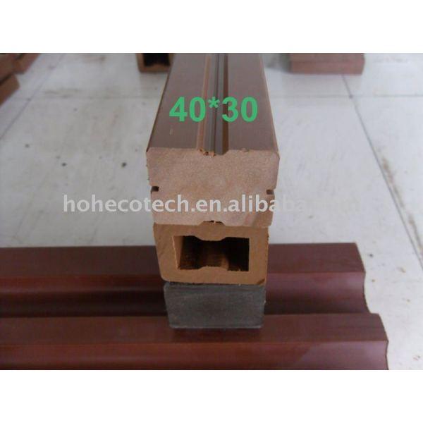 verschiedene Modelle des WPC Balken Holz-Plastikzusammensetzung-Balken wpc Balkens