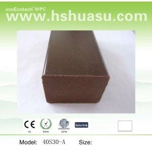 composto plástico de madeira joist chão
