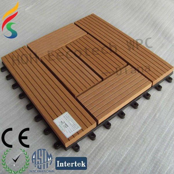 Eco - ambiente de bricolaje decking compuesto azulejo