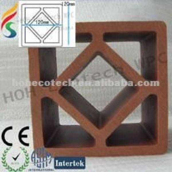 compuesto plástico de madera de esgrima post