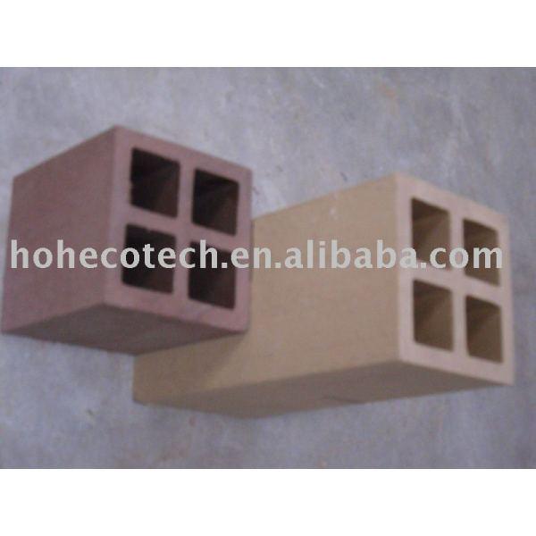 Wpc esgrima post, de plástico de madera al aire libre